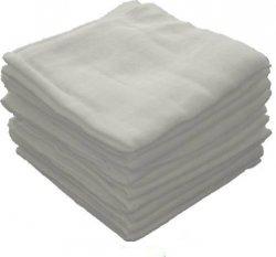 pielucha tetra biała  80/80  ( 20 sztuk)