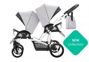 BEBETTO SPORT nowa wersja 2017- wózek spacerowy 2 spacerówki EXTRA DODATKI zestaw xxxl