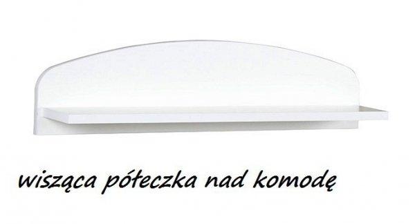 komoda z przewijakiem  / pólka  SAFARI  ŻYRAFKA  biała KLUPŚ