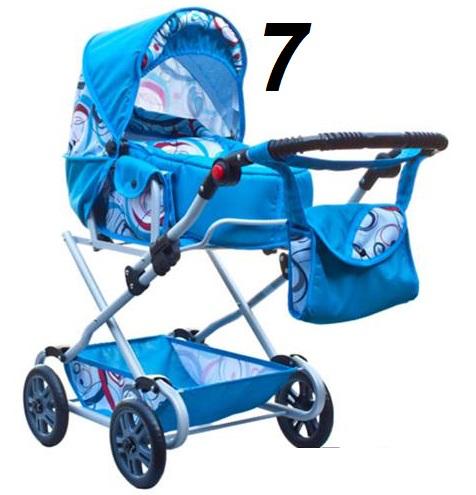 wózek lalkowy głeboko-spacerowy-JAK PRAWDZIWY duża  kolorystyka
