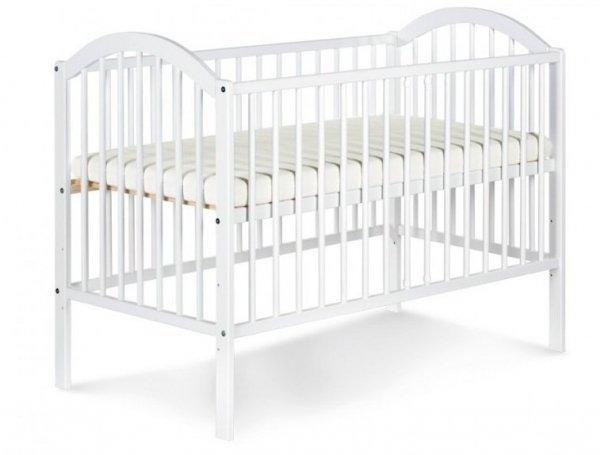 łóżeczko EWELINA I BIAŁA 120/60  KLUPŚ