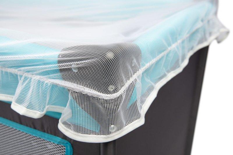 moskitiera uniwesalna biała  przeciw owadom na łóżeczko / kojec