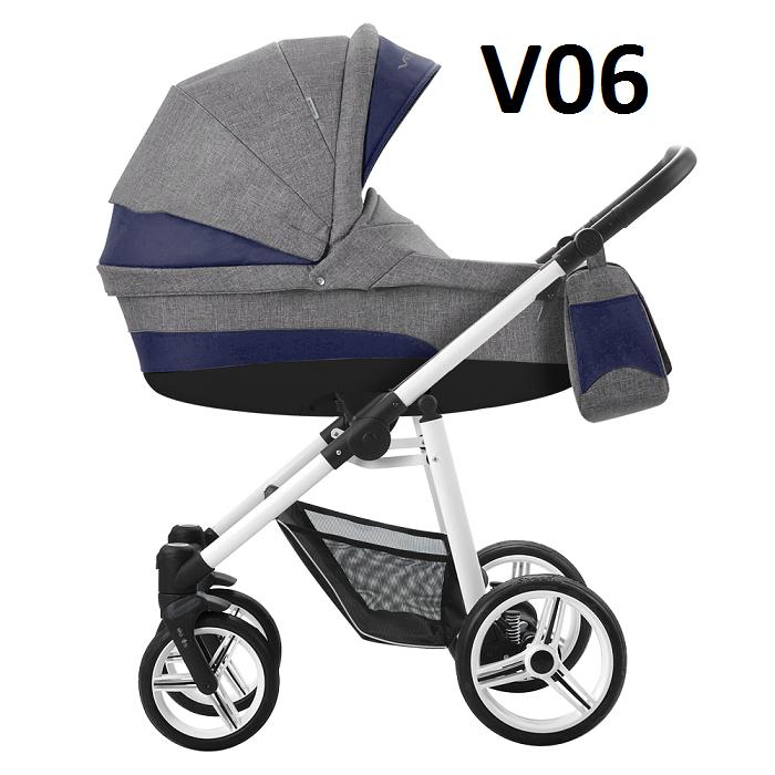 VULCANO 2020 dwa kolory stelaża ( gondola+spacerówka ) + dodatki BEBETTO