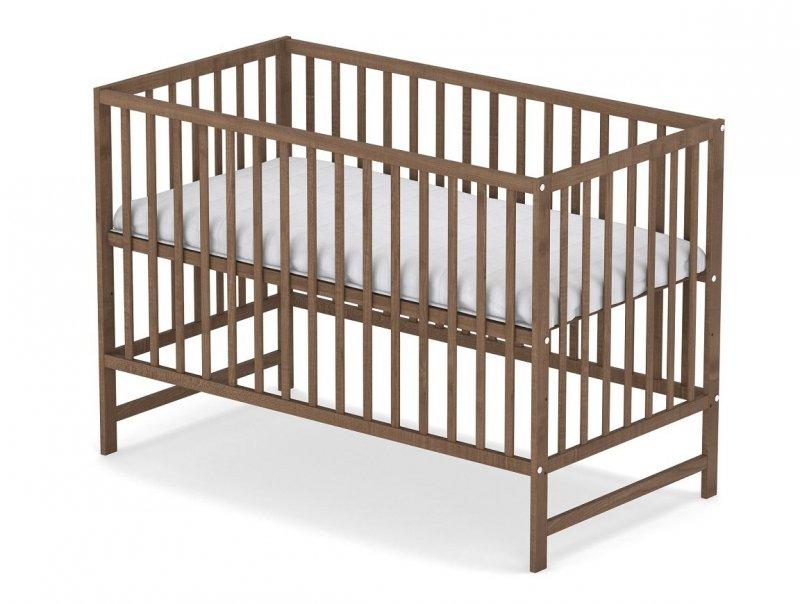 łóżeczko KLASYCZNE kolor buk 120/60 cm