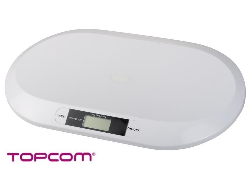 Lekka ergonomiczna waga 2000 TOPCOM