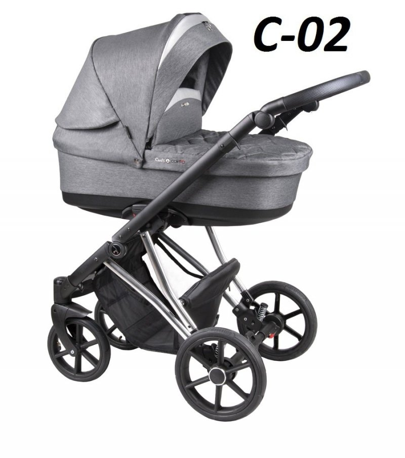 wózek wielofunkcyjny CRAFT 3w1 ( gondola +spacerówka + fotelik ) COLETTO