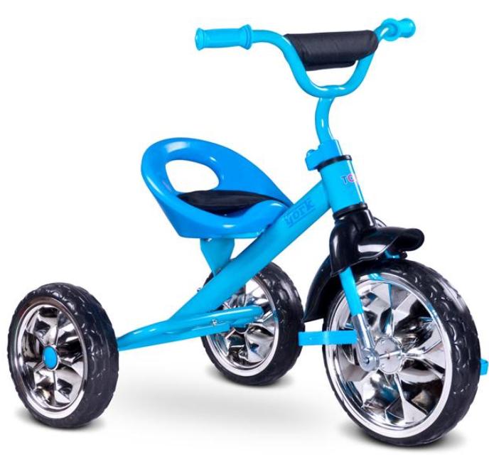 Rowerek  3-kołowy  YORK TOYZ NIEBIESKI