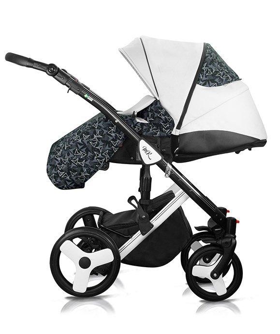 2021 STARLET 3w1 wózek wielofunkcyjny ( gondola+ spacerówka + fotelik KITE 0-13 KG )  MILUKIDS