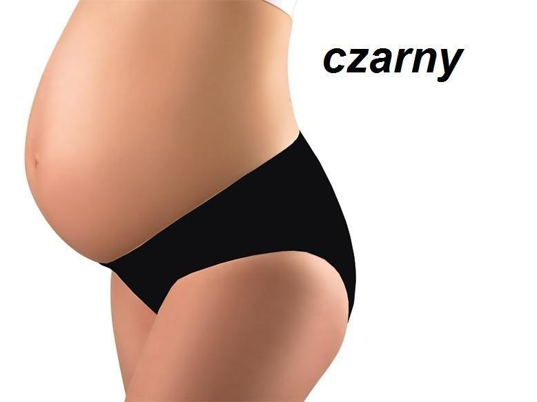 Figi ciążowe pod brzuch (rozmiary) BIAŁE CZARNE NEUTRALNE baby ono kod 508