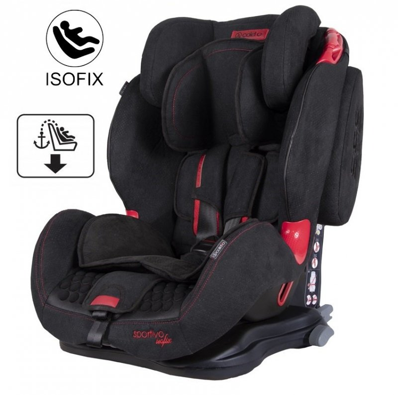 SPORTIVO  ISOFIX   fotelik samochodowy 9-36kg COLETTO