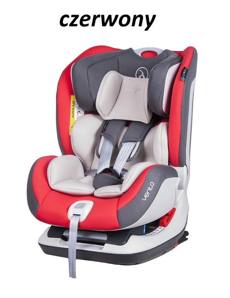 fotelik samochodowy RWF COLETTO VENTO ISOFIX  3 kolory   0-25 KG