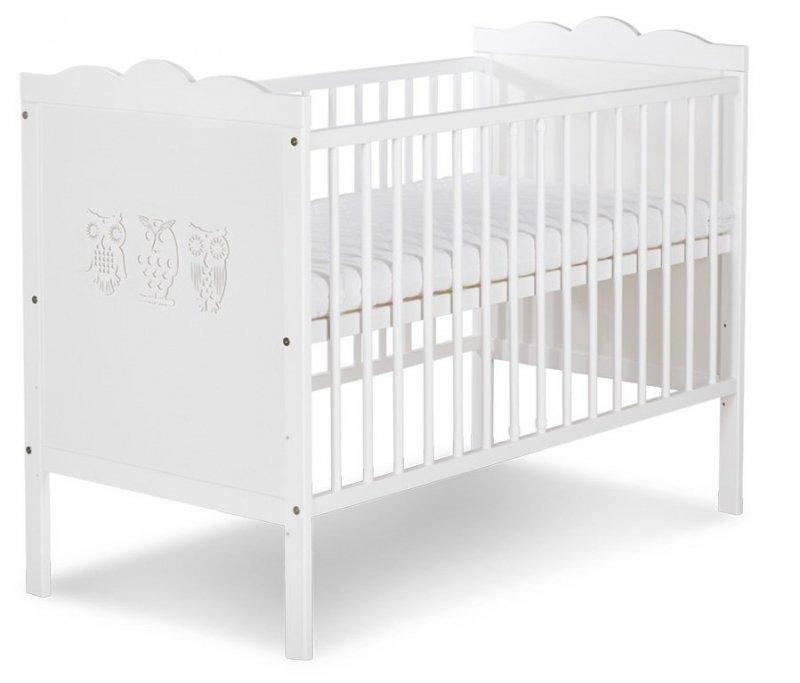 Łóżeczko Marsell białe  120/60 firmy KLUPŚ