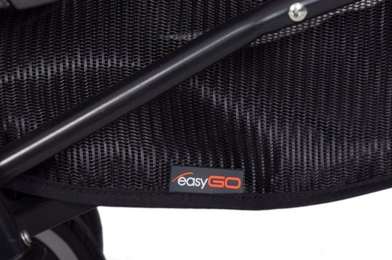 wózek typu parasolka bliźniaczy 2020 easy go DUO COMFORT + folia+osłonki