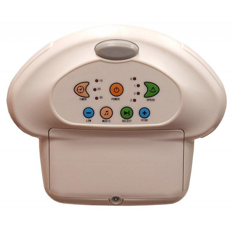 Huśtawka elektroniczna leżaczek Baby Mix  230V/baterie kolor latte