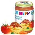 Hipp Bio obiadek Spaghetti z sosem Bolognese 8m 220g