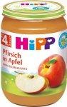 m-din HIPP BIO Owoce Brzoskwinia Jabłko 190g 4m