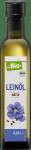 Bio Wegański Olej Lniany Zimnego Tłoczenia 250 ml