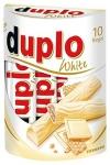 Ferrero Duplo Batoniki Biała Czekolada krem Orzechowy 10szt NEW