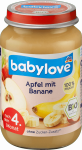Babylove BIO Przecier Owocowy Jabłko Banan 4m 190