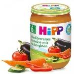 Hipp Bio Śródziemnomorskie Warzywa Bakłażan 6m 190g