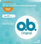 OB Super Original 56 szt Tampony Niemieckie