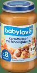 Babylove Bio Gulasz Ziemniaki Wołowina 8m 220g