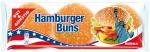 Gotowe Amerykańskie Bułki Hamburgerowe Sezam 6szt 300g