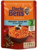 Uncle Bens gotowe Danie Greckie Ryż Z Warzywami