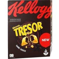 Kellogg's Tresor Poduszeczki Dark Choco Do Mleka 375