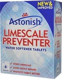 Astonish odkamieniacz do pralki tabletki 6 szt