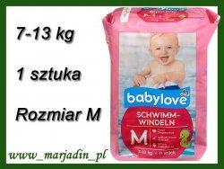 Babylove Pieluszka Majteczki do pływania na basen 7-13kg 1 sztuka