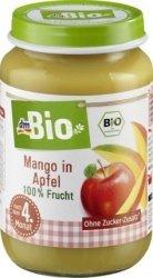 Bio Pierwsze owoce Jabłko Mango 4m 190g