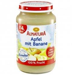 Alnatura Demeter deser Jabłko Banan 4m 190g