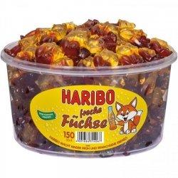 Haribo Fuschse Liski Cola-Pomarańcz 150szt Niemcy