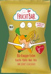 FruchtBar Chrupki Kaczuszki Kukurydza Marchew Dynia Ryż 1r 30g