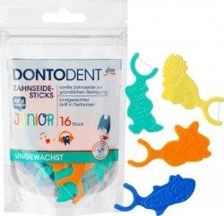DontoDent Wykałaczki Nić dentystyczna dla dzieci