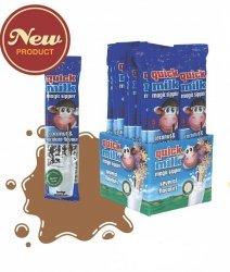 Quick Milk Czekolada Kokos Słomki Zmieniają Smak Mleka