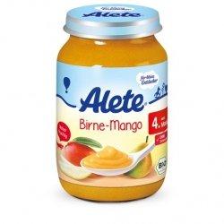 Alete BIO deser Gruszka Mango przecier mus 4m 190g