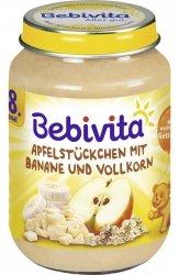 Bebivita Kawałki Jabłka Banan Zboża 190g 8m