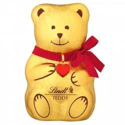 Lindt Czekoladowy Miś Teddy z Mlecznej Czekolady 200g