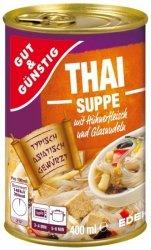 Tajska Zupa Kurczak Pędy Bambusa Mung 400