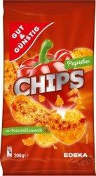 GG Ziemniaczane Chipy  Paprykowe 200g.