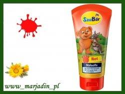 SauBar Mydełko Farbujące dla dzieci Czerwone 75 ml