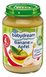 BabyDream Bio Jabłko Banan 4m 190g