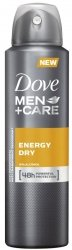 Dove Men Energy Dry dezodorant w sprayu 150ml