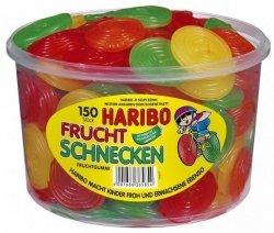Haribo Owocowe Ślimaki Koła 150szt Z Niemiec