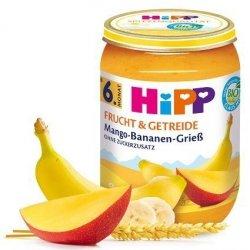 Hipp Bio Kaszka Manna Owocowa Mango Banan 6m 190g