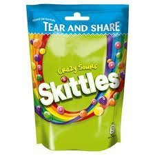Skittles Sours Kwaśne Cukierki Do Żucia 174g