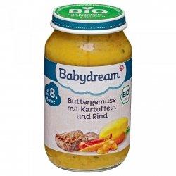 BabyDream Bio Maślane Warzywa Ziemniaki Wołowina 8m 220g