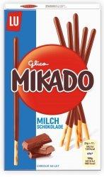 Mikado Ciasteczkowe Paluszki Z Mleczną Czekoladą 75g